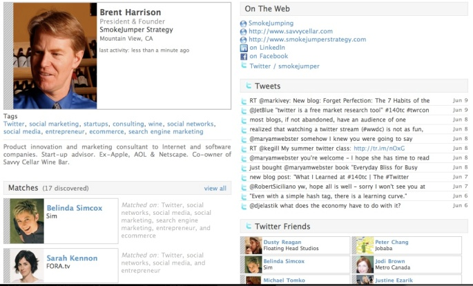 Brent Harrison's Pathable Profile